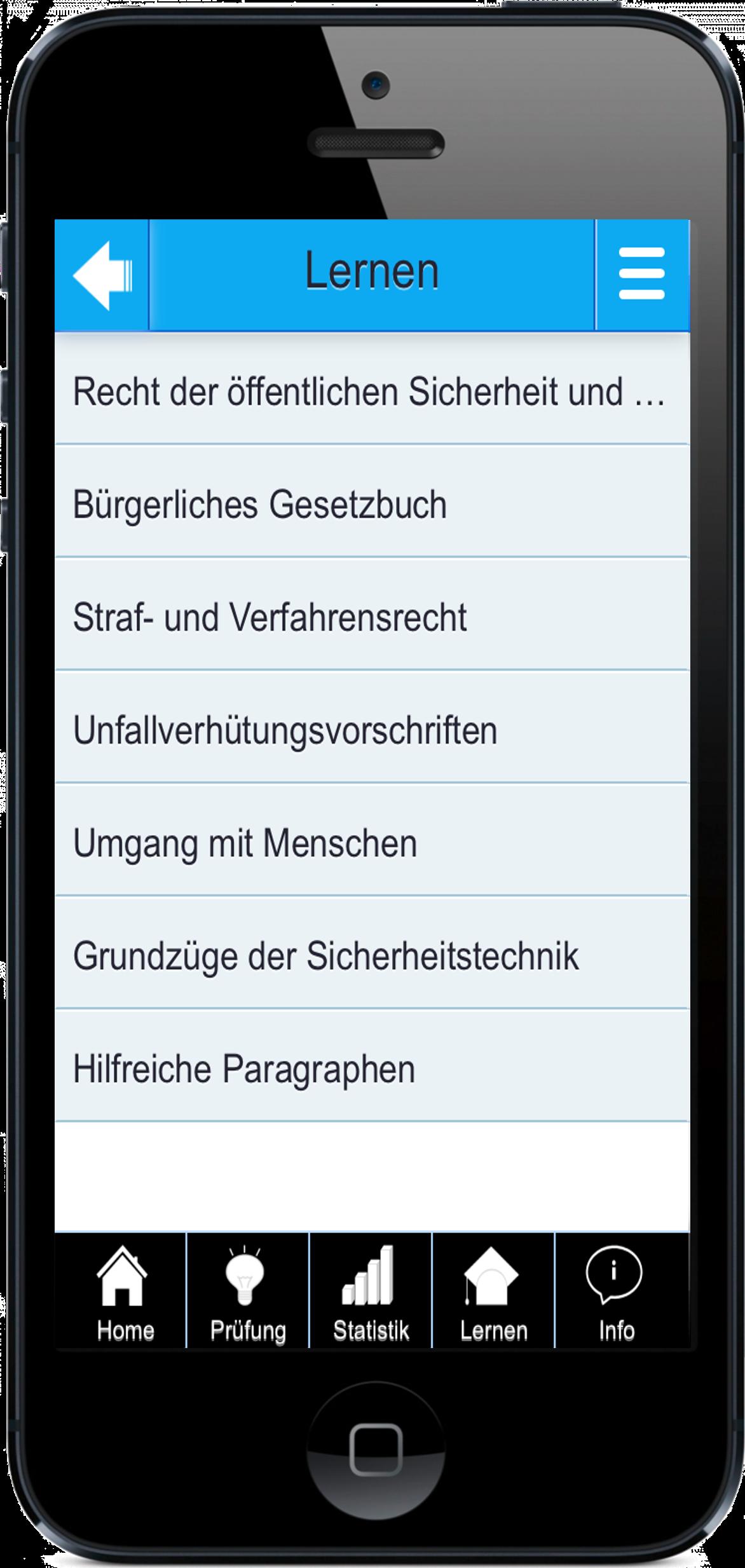 iPhone schwarz_lernen
